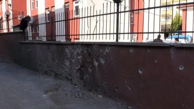PYD/PKK'nın roketli saldırısı - Ağız ve Diş Sağlığı Merkezi'nde patlamanın izleri silindi - KİLİS