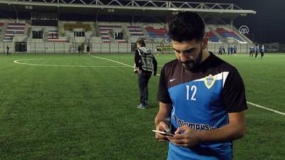Sanal parayla transfer edilen futbolcu antrenman yaptı - SAKARYA