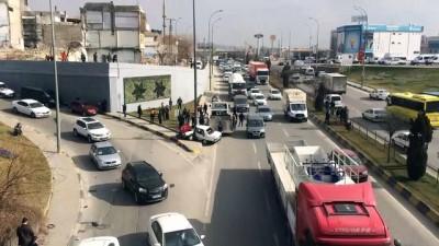 Trafik kazası: 1 yaralı - GAZİANTEP