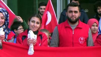 Zeytin Dalı Harekatı'na destek - BİTLİS/MARDİN