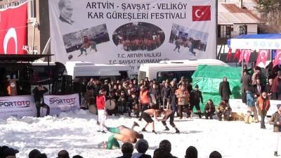 23. Uluslararası Kar Üstü Karakucak Güreşleri - ARTVİN