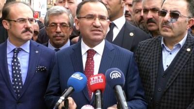 Başbakan Yardımcısı Bozdağ: 'Türk ismini taşımaya layık olmayanlara karşı sessiz kalamayız'