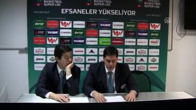 Basketbol - Banvit-Demir İnşaaat Büyükçekmece maçının ardından - BALIKESİR
