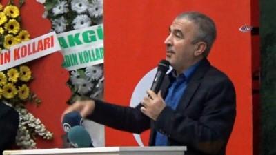 """Naci Bostancı, """"5 bin tır silah verilmiş, barış gülü verilmemiş"""""""