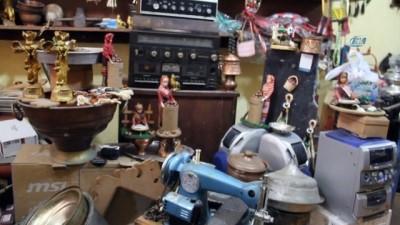 Antika dükkanında tarihe yolculuk