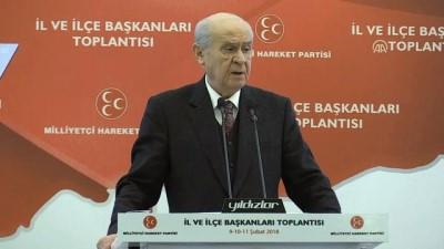 Bahçeli: 'CHP Genel Başkanı Kılıçdaroğlu ne derse desin, nasıl kıvranırsa kıvransın Afrin'e mutlaka girilmeli' - ANTALYA