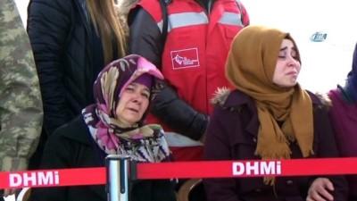 Giresunlu Afrin şehidinin cenazesi Erzincan'a getirildi
