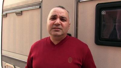 Gurbetten gelip karavanını Mehmetçik'e bağışladı - HATAY