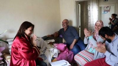 Manisa'da 7 yıl önce boşanan çift hasta yatağında nikah tazeledi