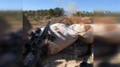 - Katme köyünde YPG Cephaneliği Vuruldu