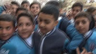 Kilis'te 55 bin öğrenci ders başı yaptı 'Bombalara alıştık seslerinden korkmuyoruz'
