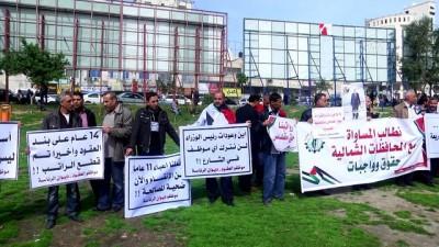 'Maaş kesintisi ve erken emeklilik' karşıtı gösteri - GAZZE