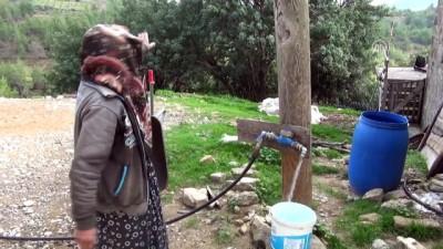 Nazife Nine'nin 40 yıllık su çilesi sona erdi - ANTALYA