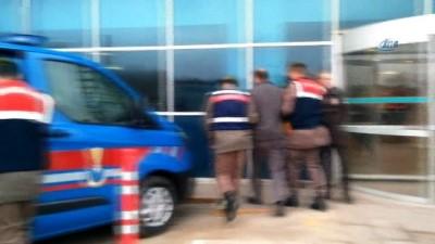 Silah kaçakçılığı operasyonunda 5 kişi adliyeye sevk edildi