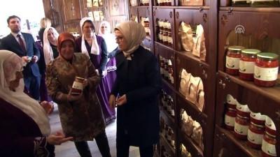 TBMM Kadın Erkek Fırsat Eşitliği Komisyonu üyelerinden kadın girişimcilere ziyaret - BURSA