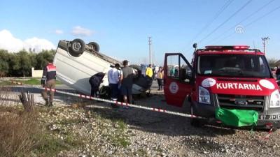 Trafik kazası: 1 ölü, 2 yaralı - ANTALYA