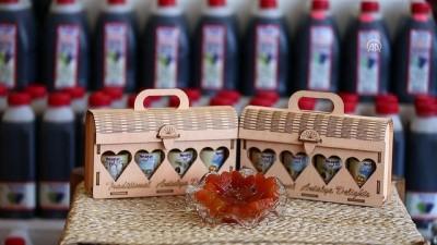 ABD'li sevgililere Antalya'dan kalpli bal kabağı reçeli - ANTALYA