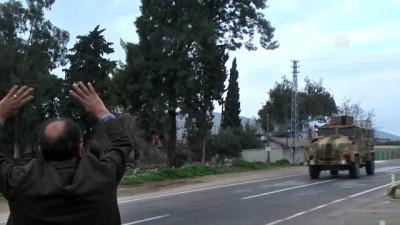 Afrin sınırına mehter marşı eşliğinde sevkiyat - HATAY