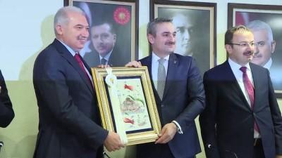 AK Parti İstanbul İl Başkanı'ndan Büyükşehir Belediyesi'ne ziyaret - İSTANBUL