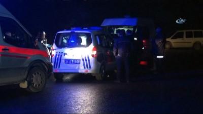 Arnavutköy'de şok olay...Ağızları bantlı 1'i kadın 2 ceset bulundu