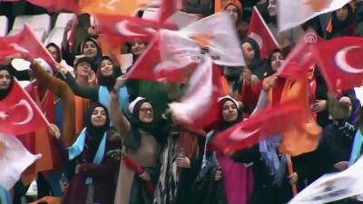 Başbakan Yıldırım, AK Parti Erzincan 6. Olağan İl Kongresi'ne katıldı