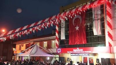 Basın Yayın Enformasyon il müdürlüğü açılış töreni - Başbakan Yardımcısı Çavuşoğlu - ERZİNCAN