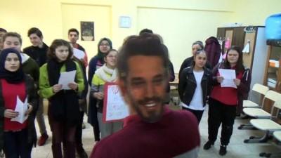 Engelli öğrenciler Murat Boz'u memleketine davet etti