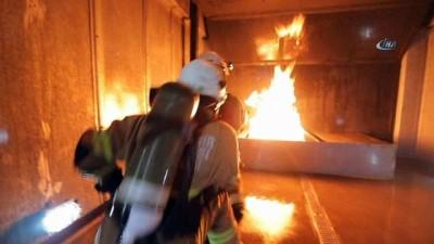 Film platosu değil yangın istasyonu
