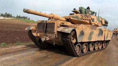 roketatarlar - Sınır hattında askeri araç sevkiyatı devam ediyor - HATAY