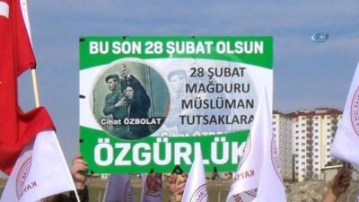 28 Şubat ve Madımak mağdurları için özgürlük istediler