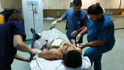 Eniştesinin bıçakladığı Iraklı genç ağır yaralandı