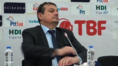 "Ergin Ataman: ""Oyunun hakimiyeti son ana kadar bizdeydi"""