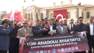 Kilisli sivil toplum örgütlerinden Zeytin Dalı Harekatı'na destek