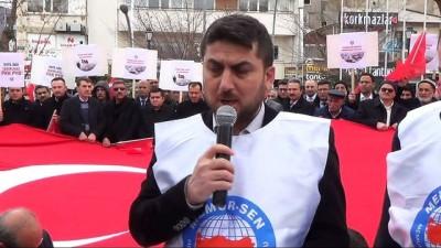 Memur-Sen'den Zeytin Dalı Harekatı'na destek açıklaması