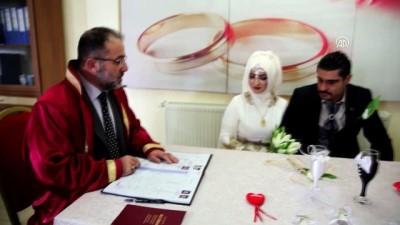 Sevgililer Günü'nde 79 çift 'Evet' dedi - KAHRAMANMARAŞ