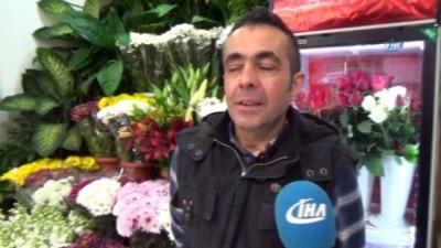 Sevgililer Günü'nde çiçekçiler internetten satışından şikayetçi