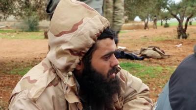 Suriyeli muhaliflerin esir aldığı DEAŞ'lılar - İDLİB
