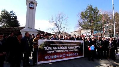 Zeytin Dalı Harekatı'na destek - BİNGÖL