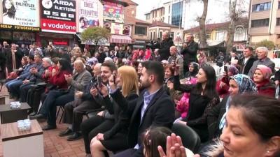 Zeytin Dalı Harekatı'nda görevli askere ilçe meydanında nikah sürprizi - ZONGULDAK