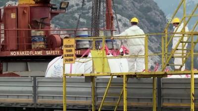 Antalya Limanı'ndan 2 milyon tonluk mermer ihracatı - ANTALYA