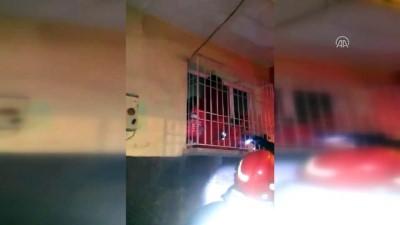 Apartmanda çıkan yangında mahsur kalanlar kurtarıldı - GAZİANTEP