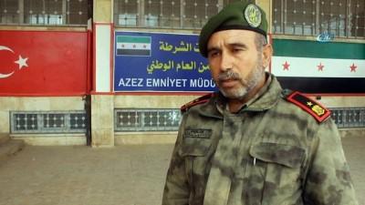 -Azez'in Güvenliğini 4 Bin Polis Sağlıyor