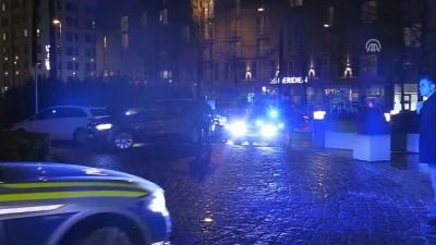 Başbakan Yıldırım, Münih'te konaklayacağı otele geldi - MÜNİH