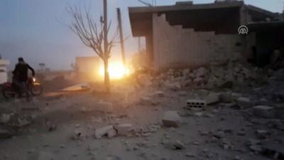 Hava saldırılarında 7 sivil öldü - İDLİB