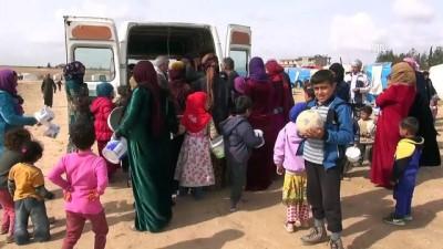 Hayırsever iş adamından Suriyeli sığınmacılara sıcak yemek - ŞANLIURFA