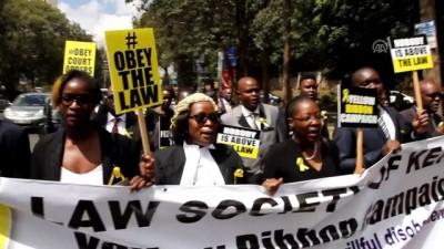 Kenya'da avukatlar devletin yasaları ihlalini protesto etti - NAİROBİ