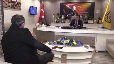 MKE Ankaragücü Kulübü Başkanı Yiğiner: 'Kulüpte kazan kaynamazdı' (2) - ANKARA