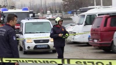 Otomobildeki mutfak tüpü patladı: 1 yaralı - ANKARA