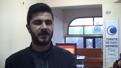 Şırnak'ta engelliler için E-KPSS kursu açıldı