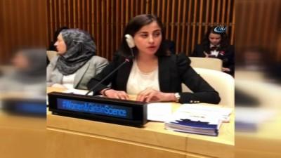 Suriyeli Ravda BM Zirvesinde Ortadoğu'daki kadınlar adına konuştu
